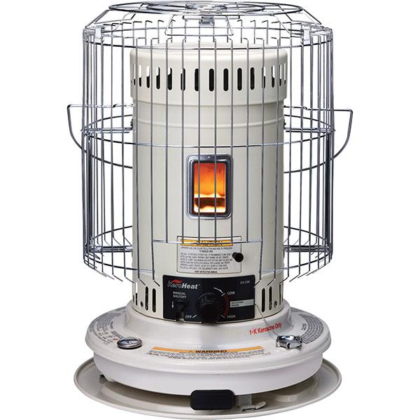 Functioning kerosene heater