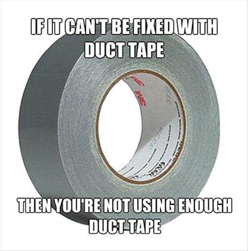 Duct tape meme
