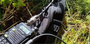 radio in bag