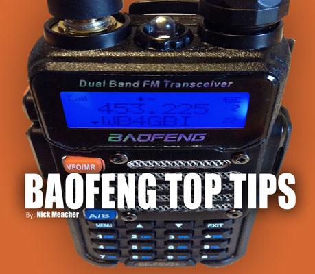 baofeng top tips