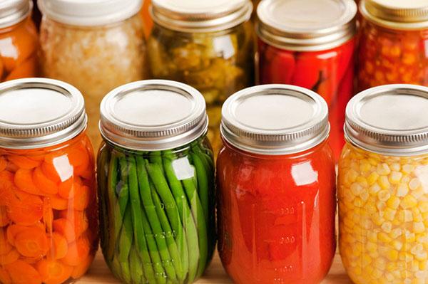 Canning for food preservation