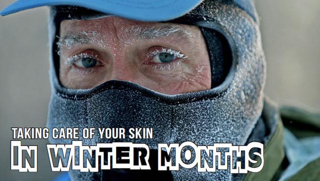 Skin in winter months title