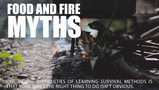 Fo0d & Fire Myths Title Image