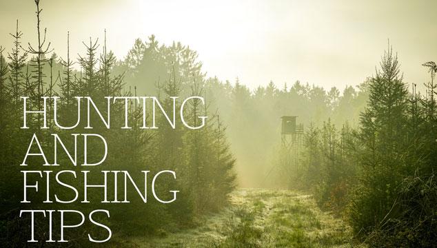 Hunting & Fishing Tips Title Image