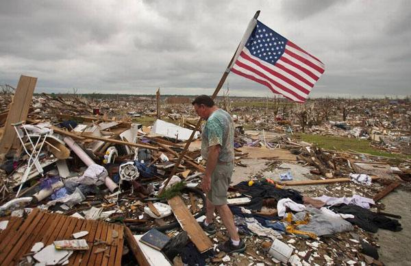 Recovering post tornado